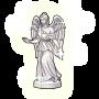 安息の女神像の画像