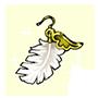 断罪の羽飾りの画像
