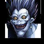 [黒い死神]リュークの画像