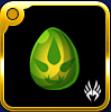 緑渦の卵の画像