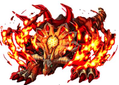 焔冠龍アルビオンの画像
