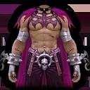 カボチャスーツ・紫の画像