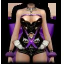 バニーガール・紫の画像