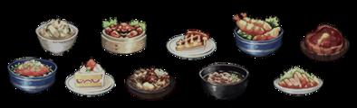 料理のバナー