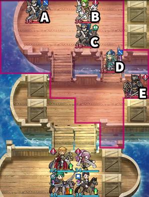 13章-2節三隻の船のマップ