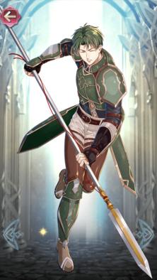 オスカー(柔の騎士)の立ち絵