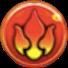 火属性のアイコン