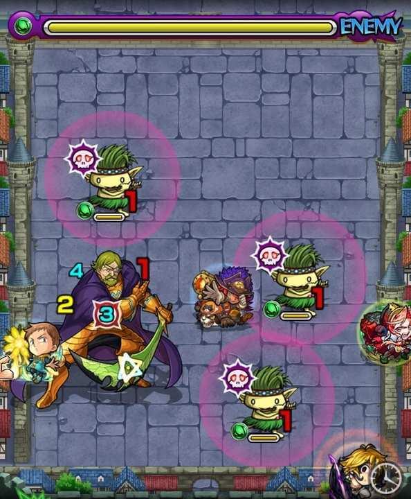 ヘルブラムのステージ2攻略