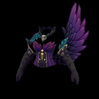 宵闇の片翼服の画像
