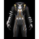 アニマル服・黒(剣闘士用)の画像