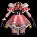アニマル服・ピンク(魔道士用)の画像