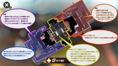 チョウザメ造船のステージマップ画像