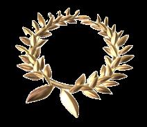 黄金の月桂冠の画像