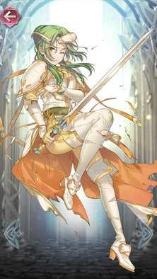 エリンシア(亡国の王女)の立ち絵