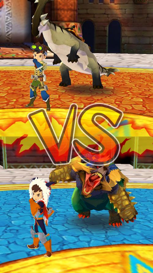 オトモンドロップ 対戦
