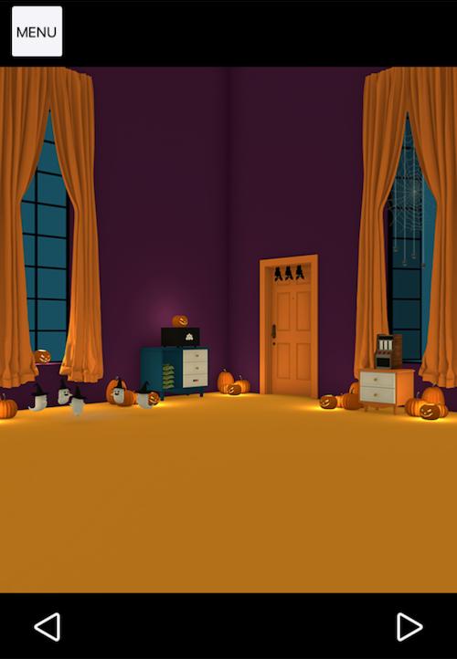 おばけとかぼちゃと魔女の家 ステージ