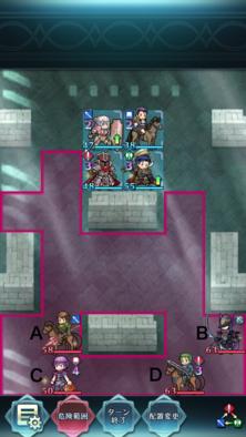 縛鎖の第4迷宮:第2ステージのマップ画像