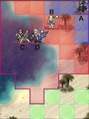 縛鎖の第4迷宮:第4ステージのマップ画像