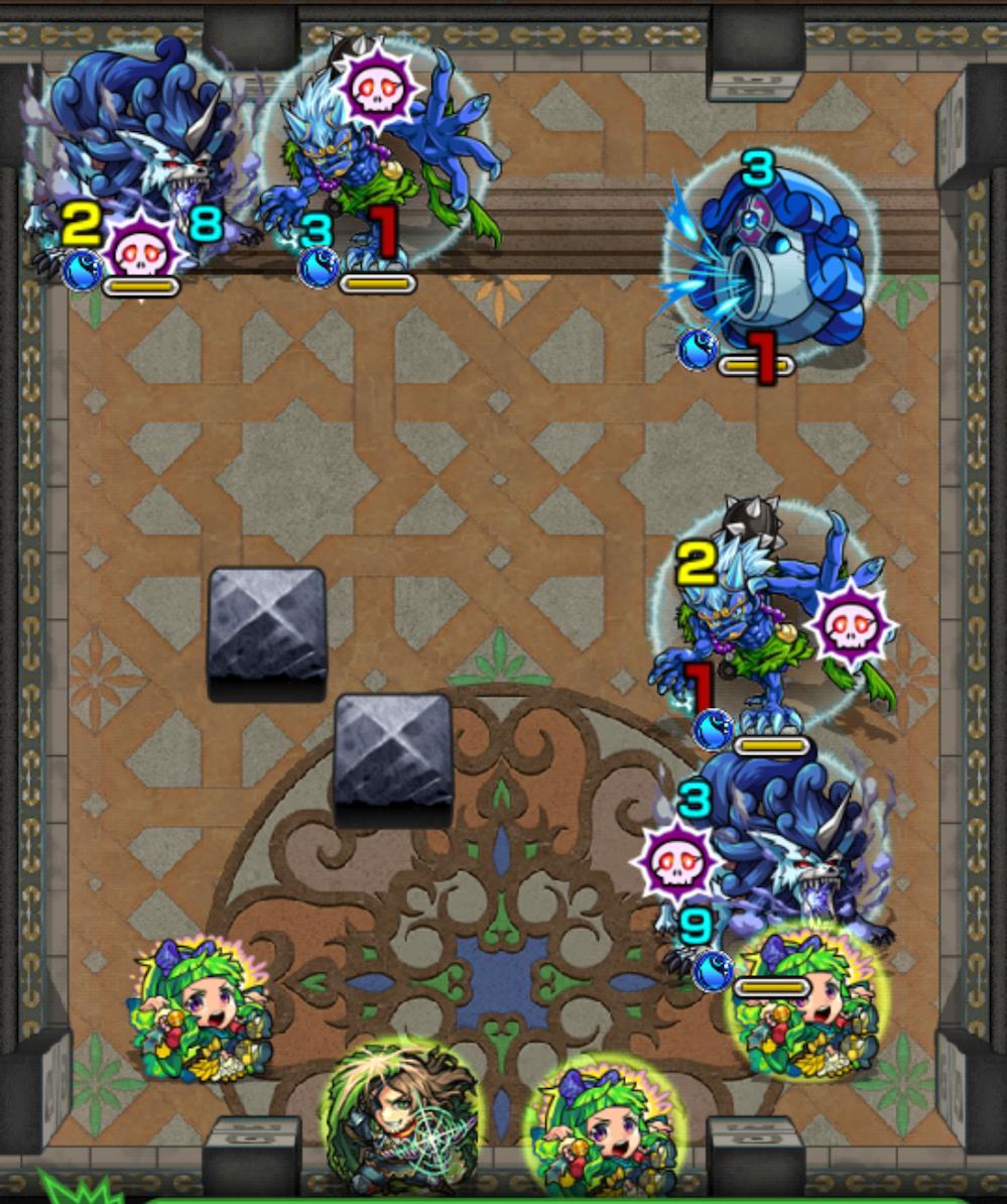 覇者の塔32階ステージ1