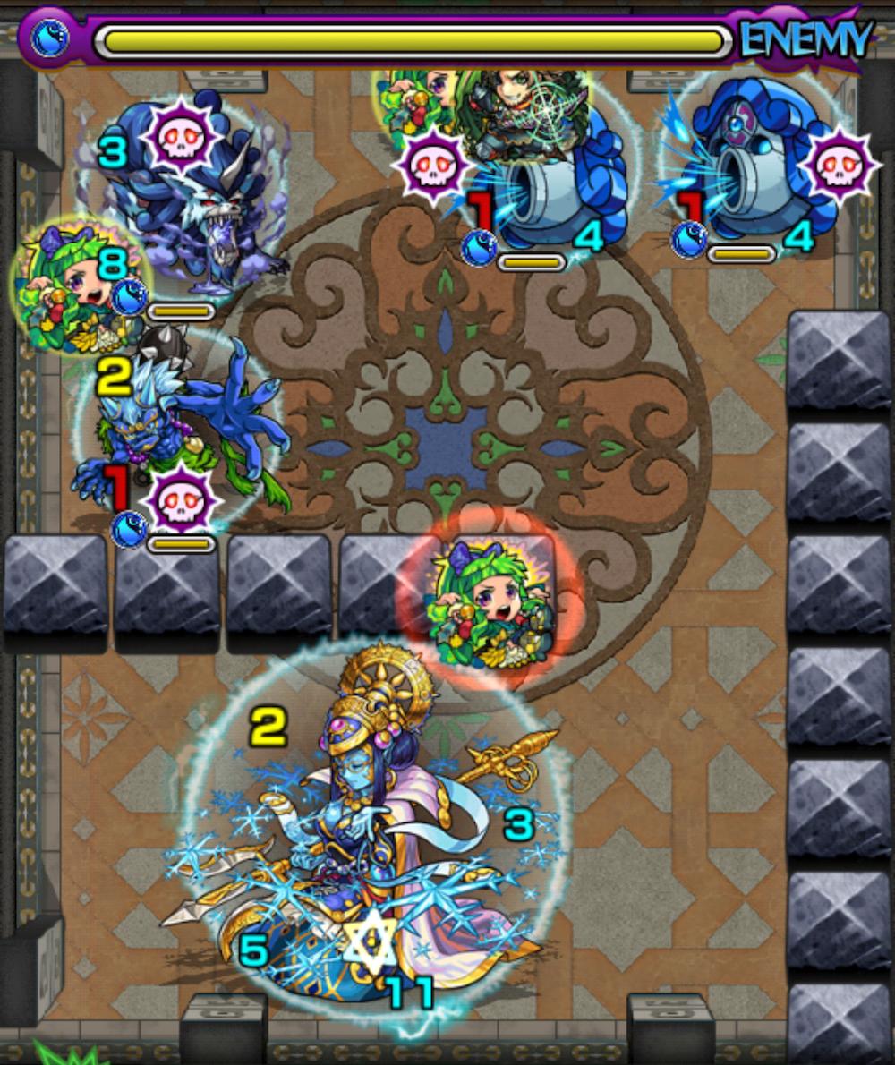 覇者の塔32階ステージ4