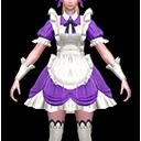 メイド・紫(魔導士用)の画像