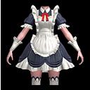 メイド・黒(魔導士用)の画像