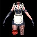 メイド・黒(双剣士用)のアイコン
