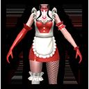 メイド・赤(双剣士用)のアイコン