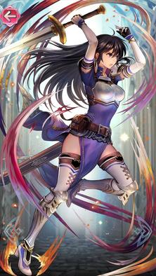 アイラ(流星の剣姫)の立ち絵