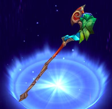 [魔葉の杖の画像
