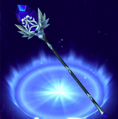 青輝石のメイスの画像