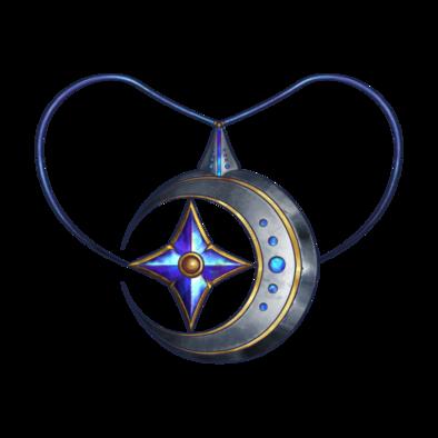 月星の首飾りの画像