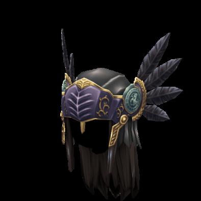 アーリィの羽兜の画像