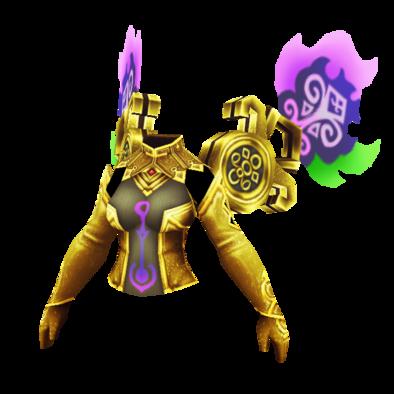 狂える女神の紋衣 金の画像