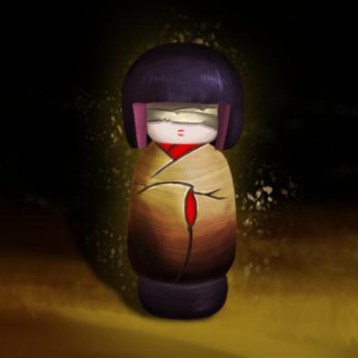 無眼人形の画像