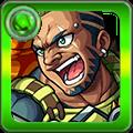 戦野の猛獣 バーボン軍曹の画像