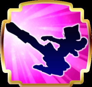[武術:飛びげりの画像