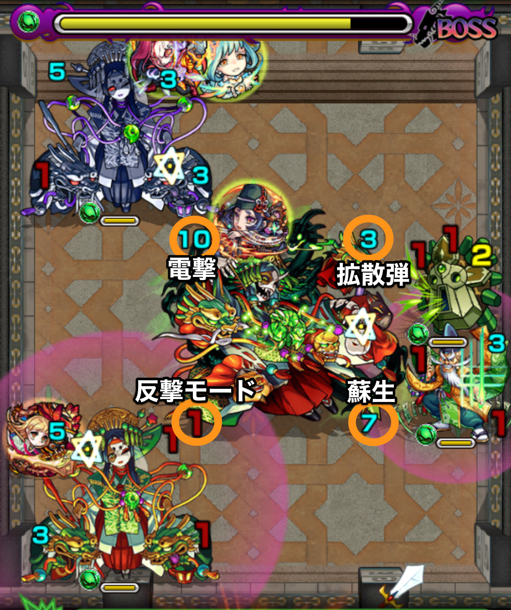 覇者の塔37階ボスステージ4攻略