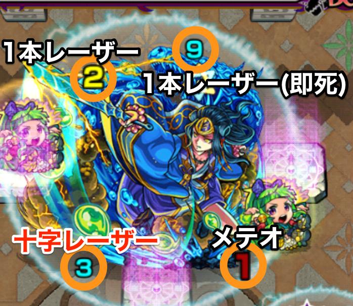 覇者の塔38階ボス攻撃パターン