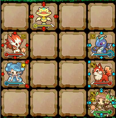 サモンズボード 戦闘画像