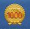 1000万スコア達成記念ピンズの画像