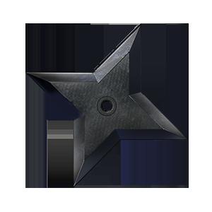 十字手裏剣の画像