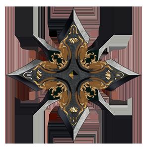 八方手裏剣の画像