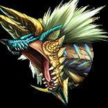 [閃光の雷狼竜]ジンオウガの画像