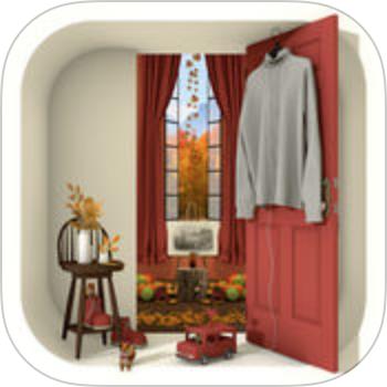 脱出ゲーム Autumn 紅葉とキノコとリスの家の画像