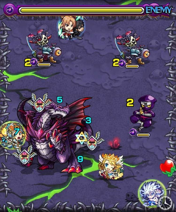 ダークドラゴンのステージ2攻略