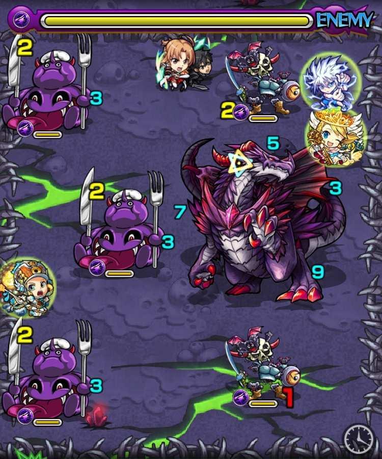 ダークドラゴンのステージ3攻略
