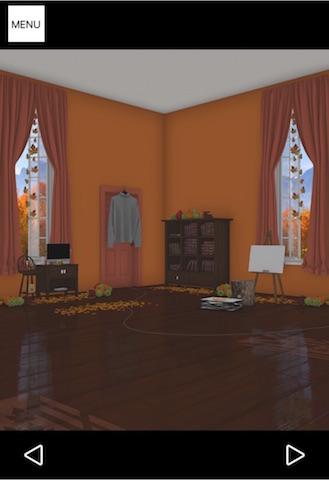 紅葉とキノコとリスの家 ステージ