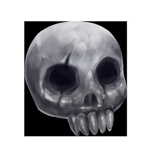 呪怨の頭蓋の画像