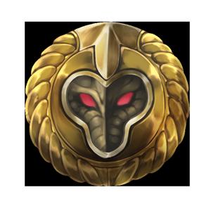 蛇神の金印の画像